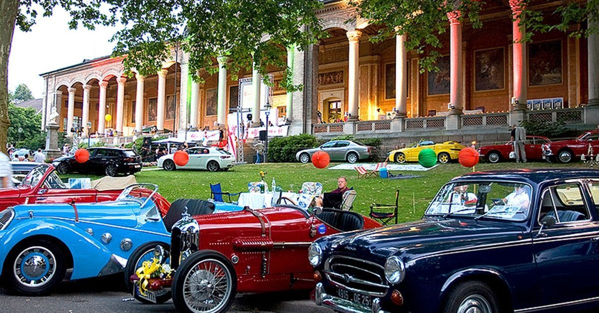 Baden-Baden mit Oldtimer-Meeting der Superlative