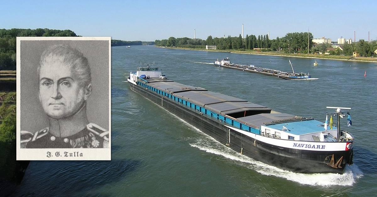 G'schichtle 35: Gottfried Tulla: Der Mann, der den Rhein verkürzte