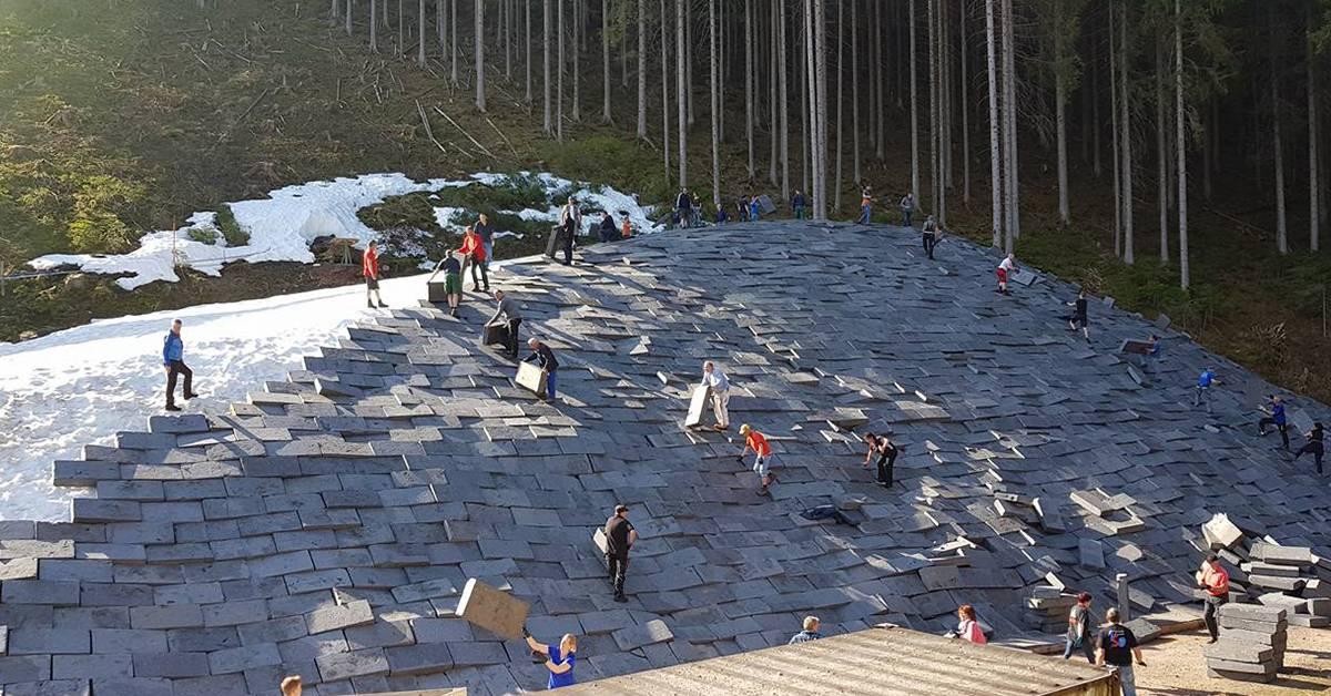 Skispringer setzen auf Schwarzwaldgletscher