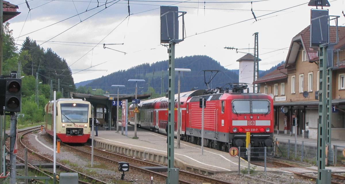 Höllental – Bahnausbau einen Monat hinten dran