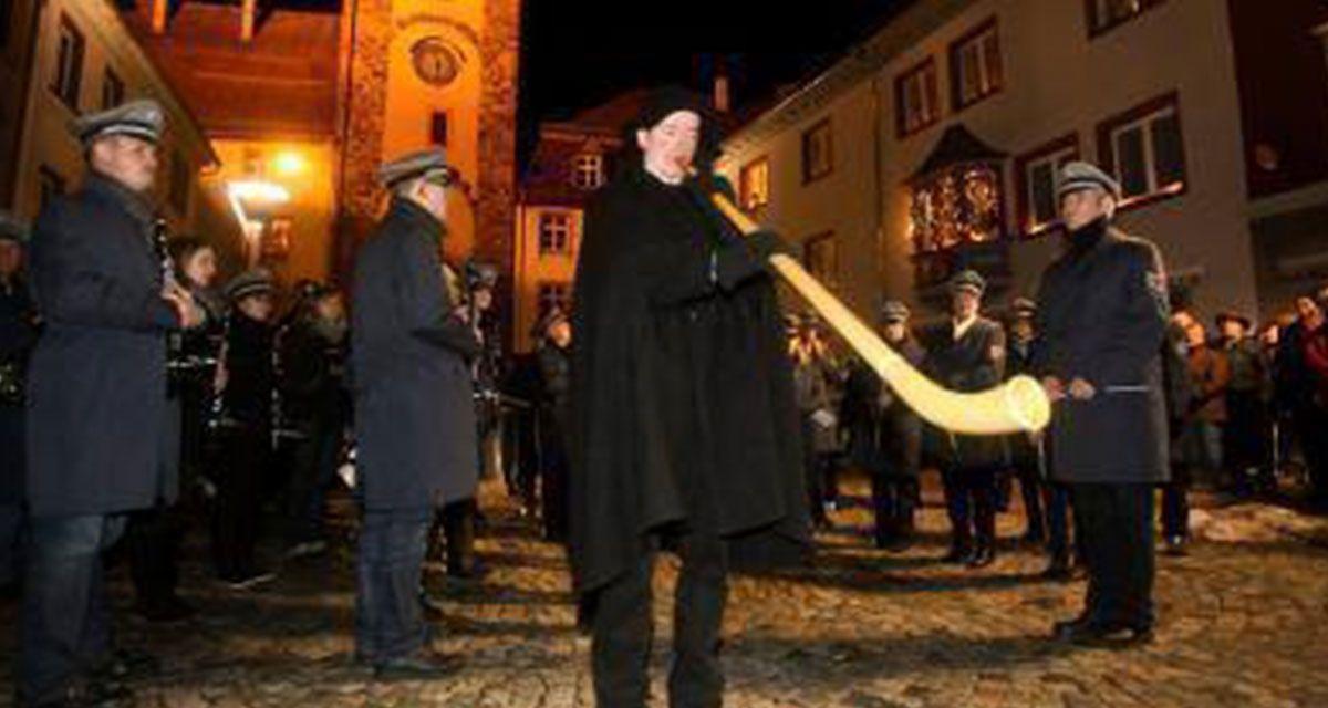 Villinger Kuhreihen: der Hornruf in der Heiligen Nacht