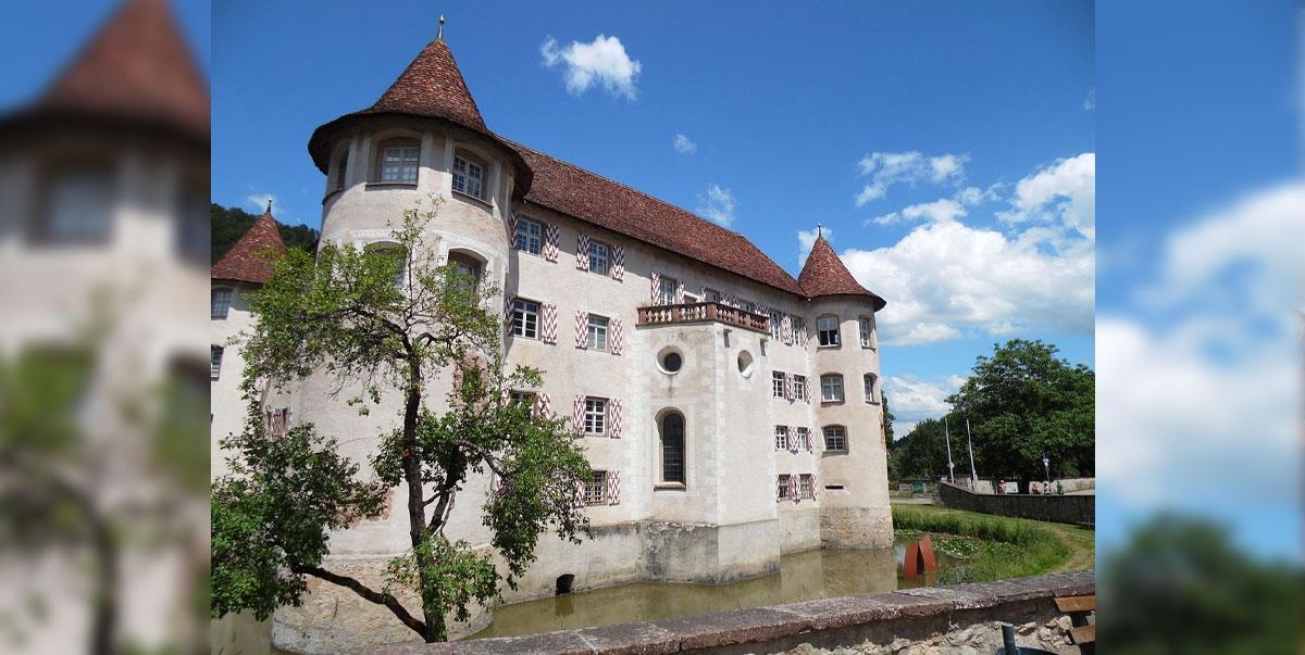 Juwel im Schwarzwald: das Wasserschloss Glatt