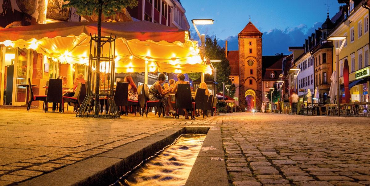 Zu Gast in der Baden-Württemberg-Stadt
