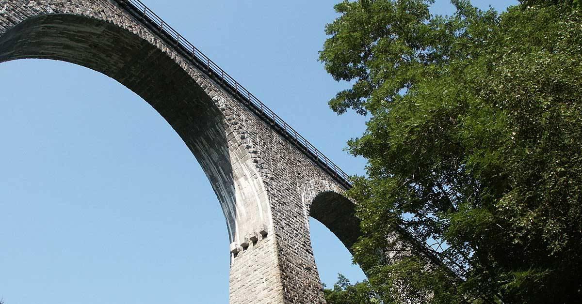 G'schichtle 50:  Spektakulär: die Ravennabrücke im Höllental
