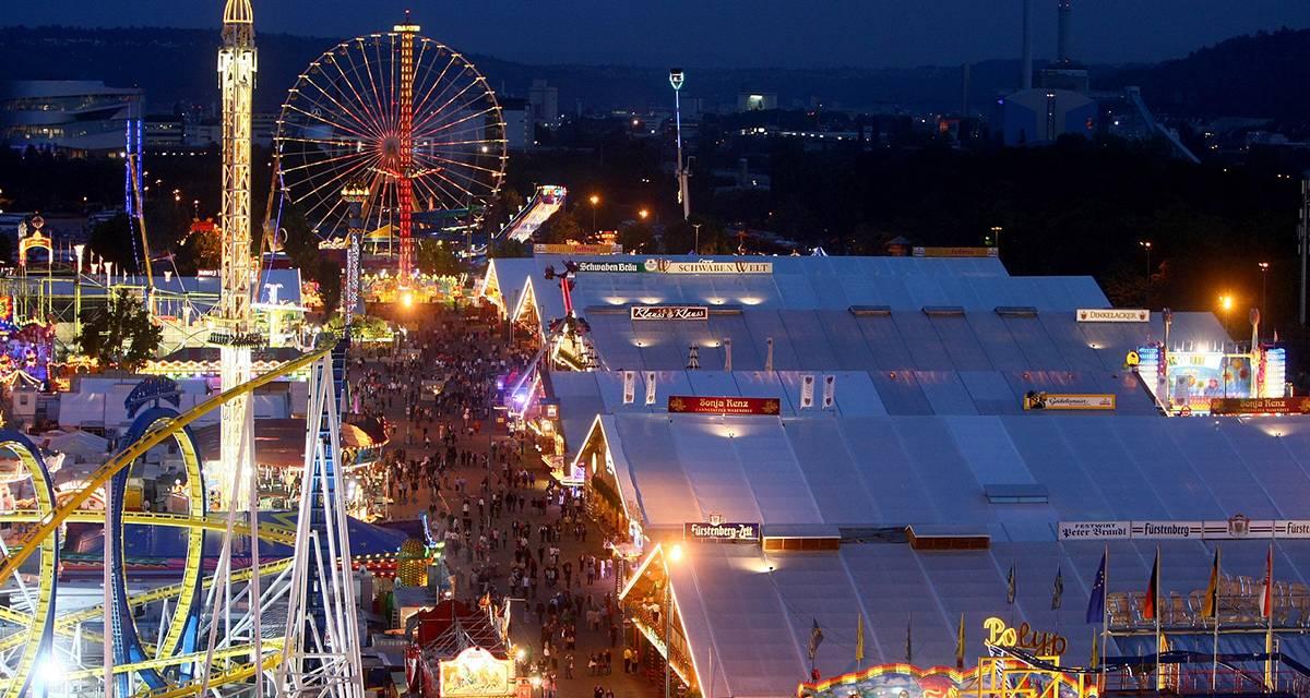 Cannstatter Volksfest: eines der größten Feste der Welt lockt